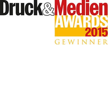 Druck&Medien Awards 2015 Gewinner