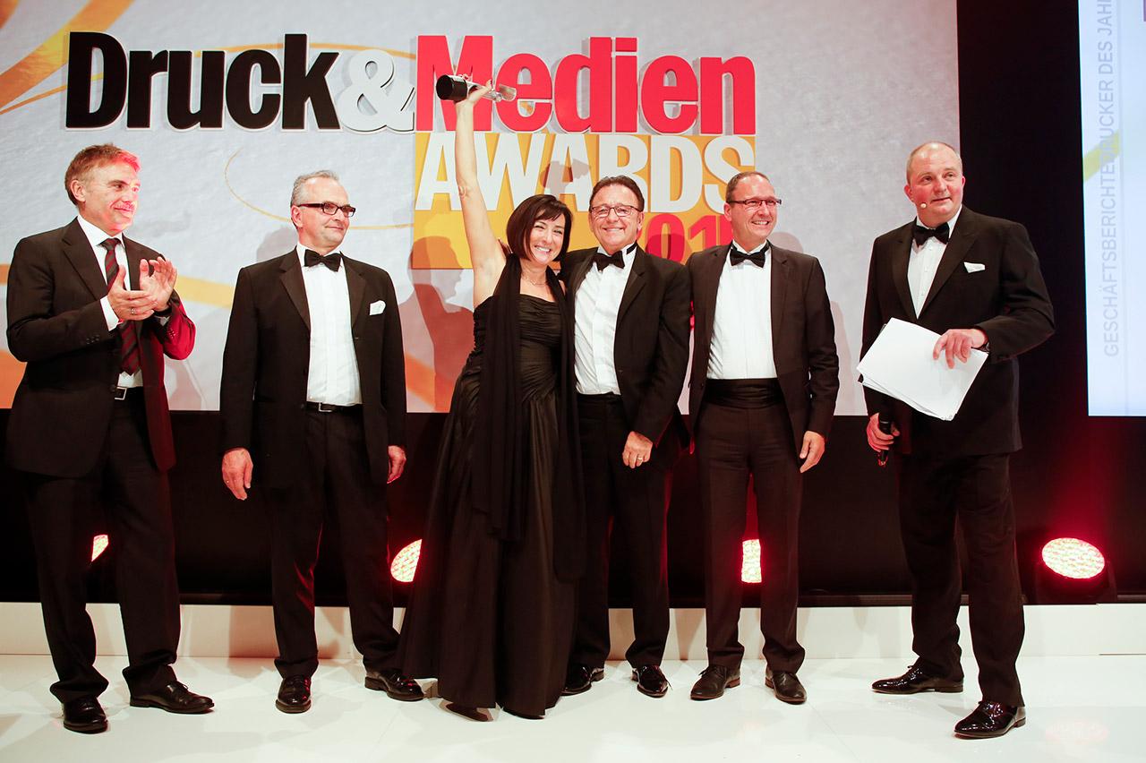 Druck&Medien Awards 2015 - Gewinner Geschäftsberichtedrucker des Jahres
