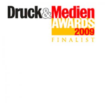 Druck & Medien Awards 2009 - Finalist