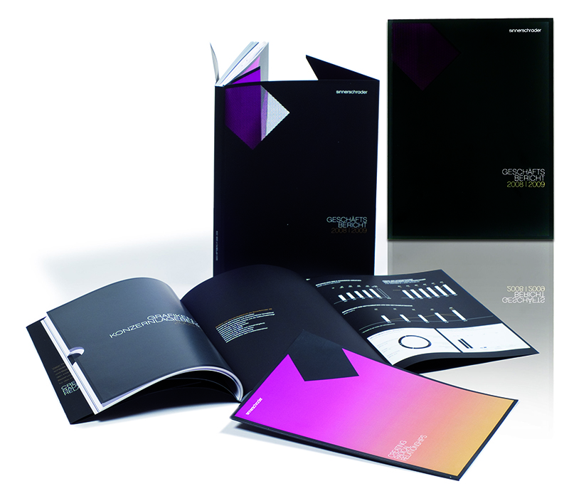 Druckprodukt Geschäftsbericht 2008/2009
