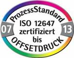 ProzessStandard ISO 12647 zertifiziert