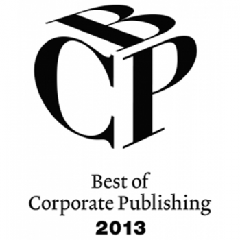 """Best of Corporate Publishing 2013 - """"Sonderpreis Druck & Innovation"""" - Silber"""