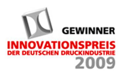 Gewinner Innovationspreis der deutschen Druckindustrie 2009