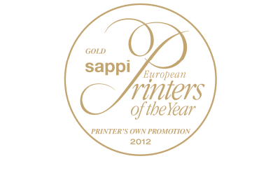 Gold Sappi European Printers of the Year 2012