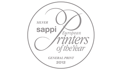 Silber Sappi European Printers of the Year 2012