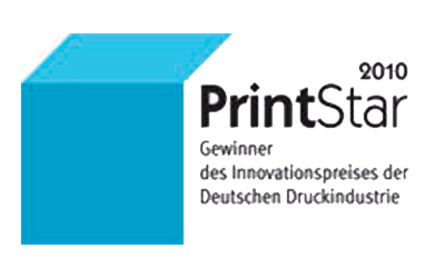 Gewinner Innovationspreis der dt. Druckindustrie 2010