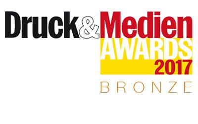 Druck&Medien Awards Bronze 2017