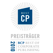 Best of Corporate Publishing 2010 - Gold