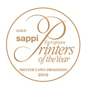 Sappi European Printers of the Year 2012 - Gold