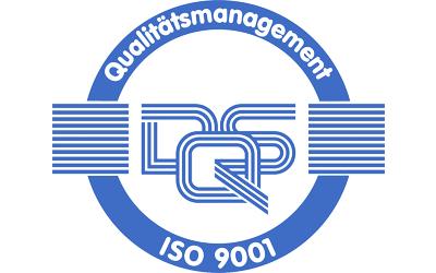 Zertifizierung nach DIN ISO 9001 (Qualitätsmanagement)