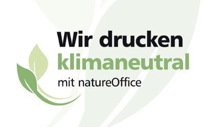 Zertifizierung nach dem Verfahren von natureOffice