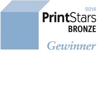 PrintStars 2014 Gewinner - Bronze