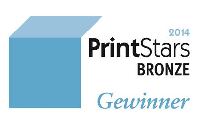 Printstars 2014 Bronze