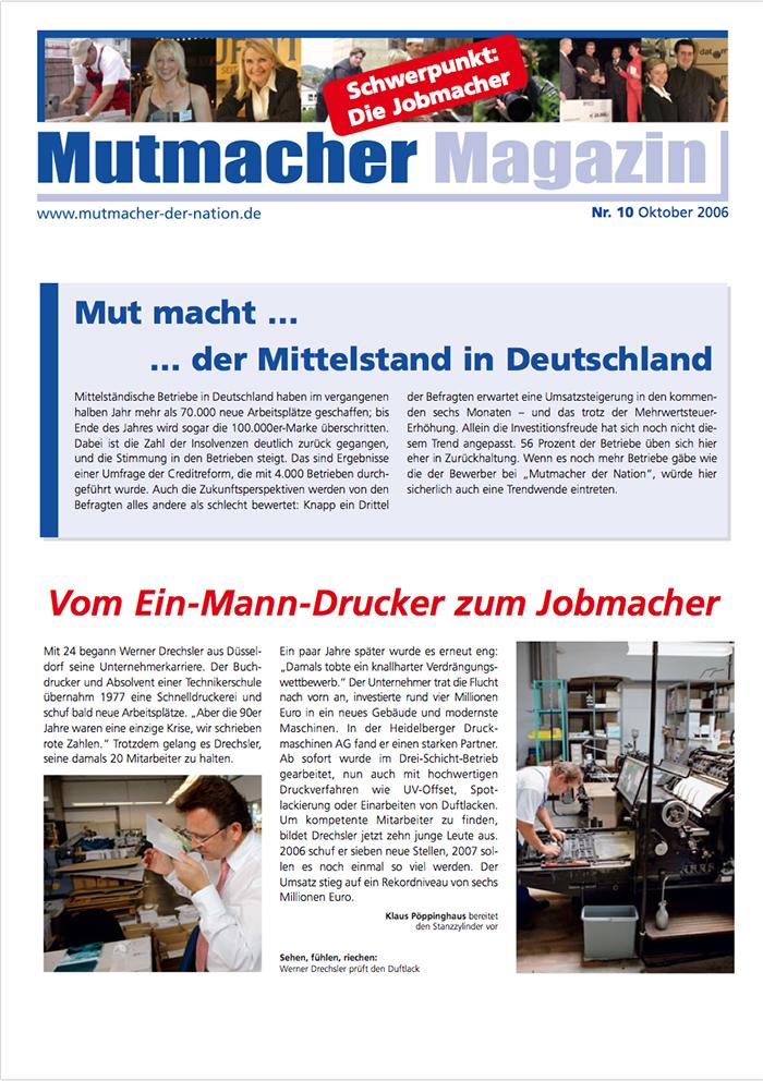 2006 OKT Mutmacher Magazin