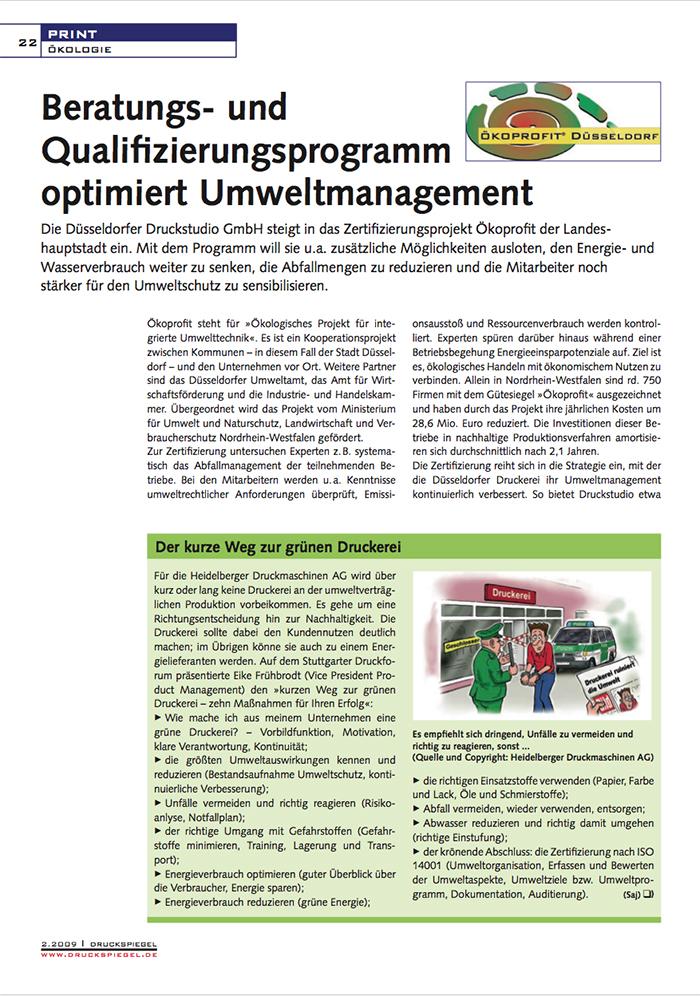 2009 FEB Druckspiegel