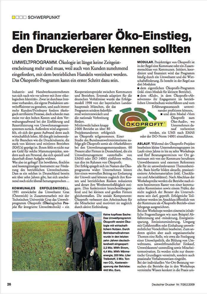 2009 Februar Deutscher Drucker