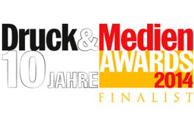 Druck&Medien Awards Finalist 2014
