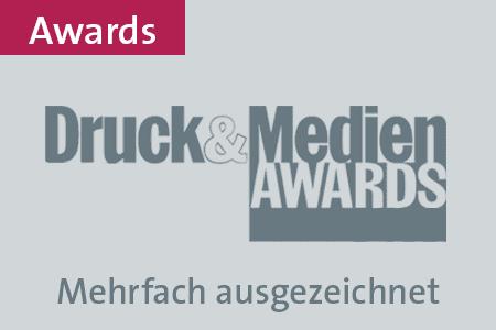 Druckerei Druckstudio Gruppe Düsseldorf Awards & Auszeichnungen