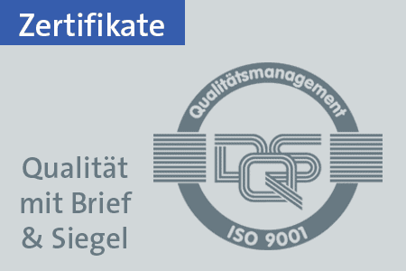 Druckerei Druckstudio Gruppe Düsseldorf Zertifikate