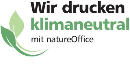 Wir drucken klimaneutral mit natureOffice