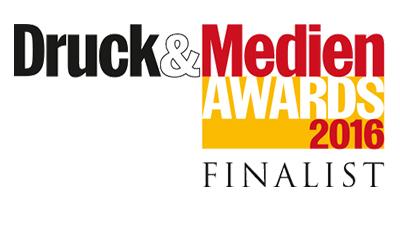 Druck&Medien Awards Finalist 2016