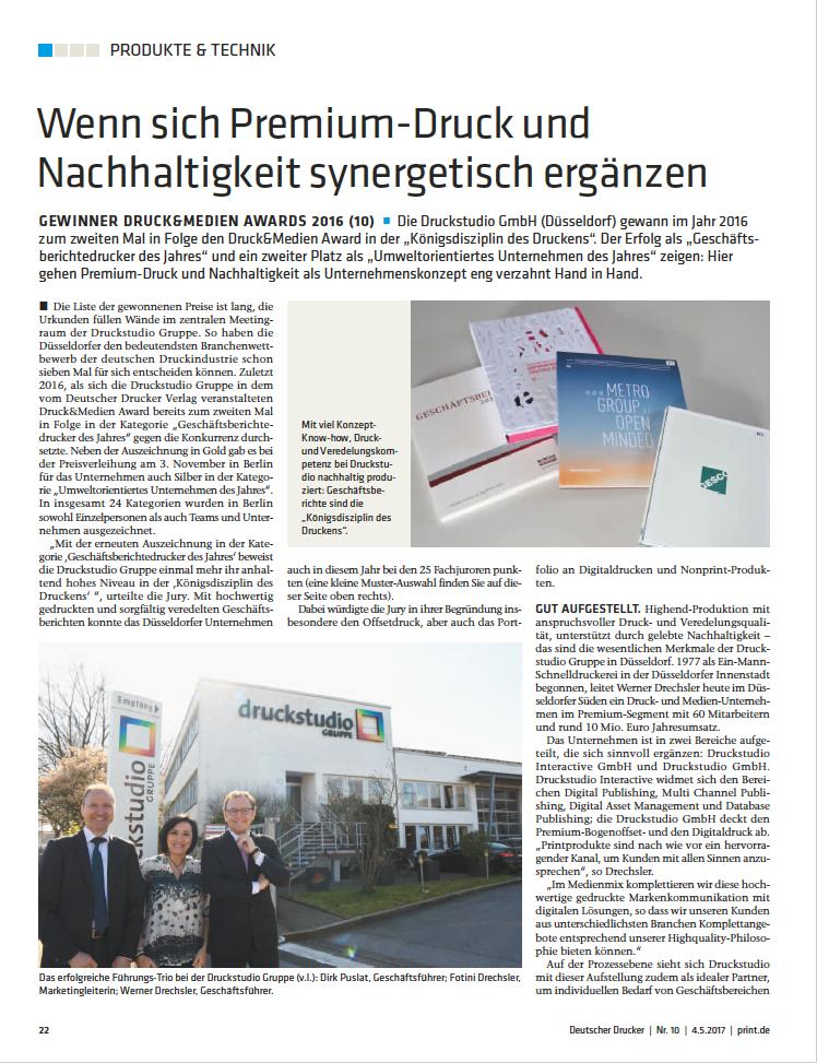 """Bild zum Artikel """"Wenn sich Premium-Druck und Nachhaltigkeit synergetisch ergänzen"""""""